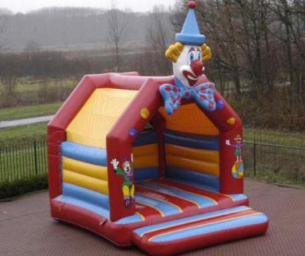 Hüpfburg Clownkopf mieten MSE-Connection