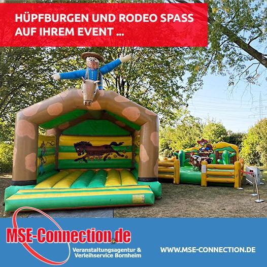 Hüpfburgen und Rodeo Spaß  auf Ihrem Event ...