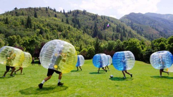 Bubble Fußball mieten | MSE-Connection
