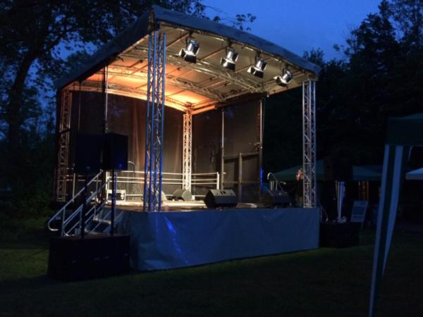 Mobile Bühne mieten | MSE-Connection
