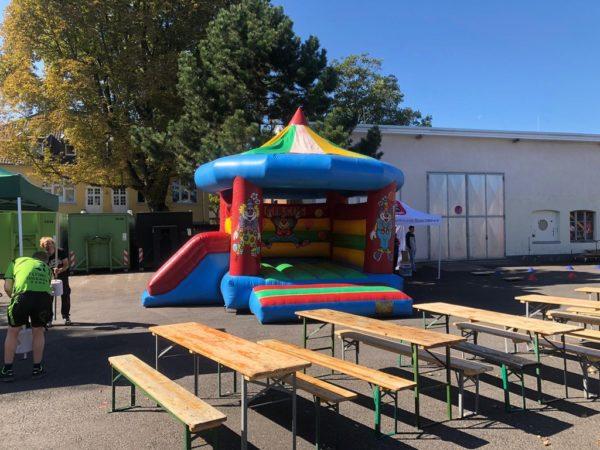 Hüpfburg Zirkus mieten MSE-Connection