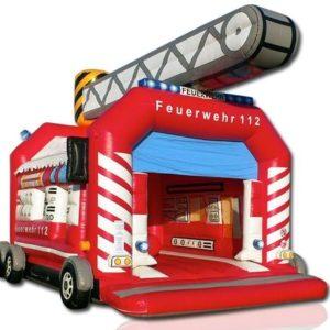 Hüpfburg Feuerwehr mieten MSE-Connection