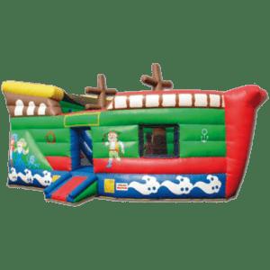 Hüpfburg Piratenschiff mieten MSE-Connectionv