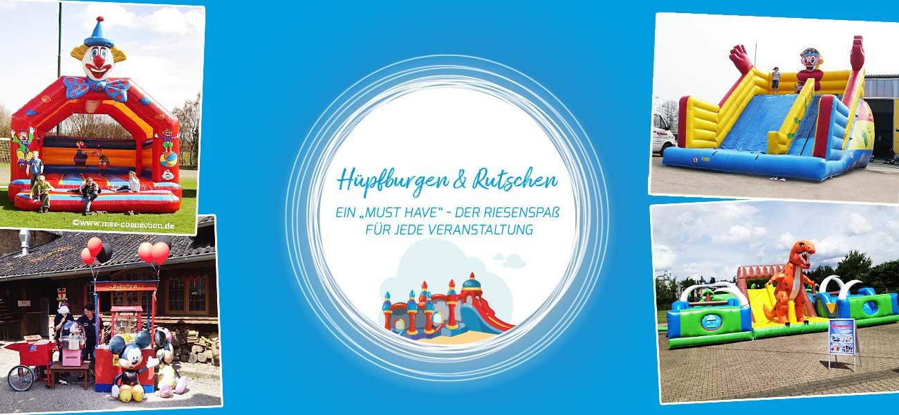 Hüpfburgen & Rutschen mieten | MSE-Connection Bornheim