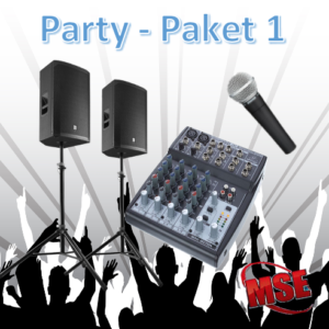 Party Musikanlage Paket 1 | MSE-Connection