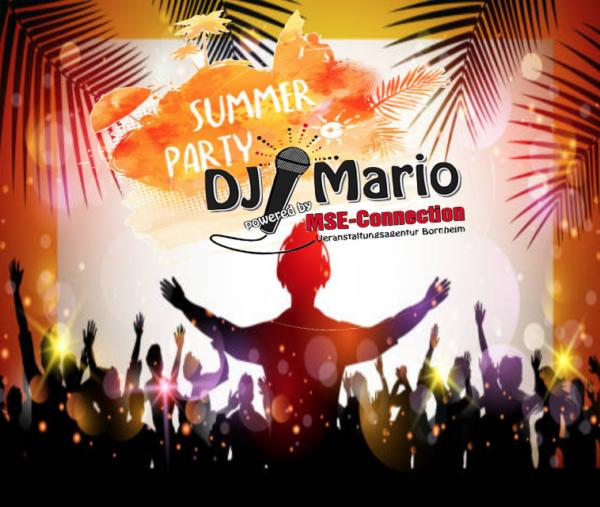 DJ Mario Bornheim Firmenfest