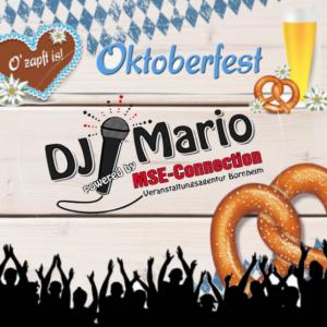 Oktoberfest DJ Mario buchen | MSE-Connection Bornheim