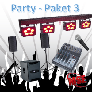 Party Musikanlage mieten | MSE-Connection