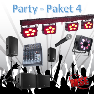 Partyanlage mieten | MSE-Connection