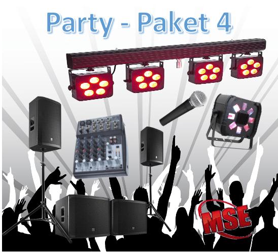 Partyanlage mieten | MSE-Connection