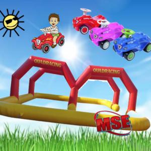 Bobby Car Rennbahn