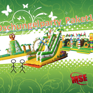 Dschungelparty Eventpaket mieten | MSE-Connection