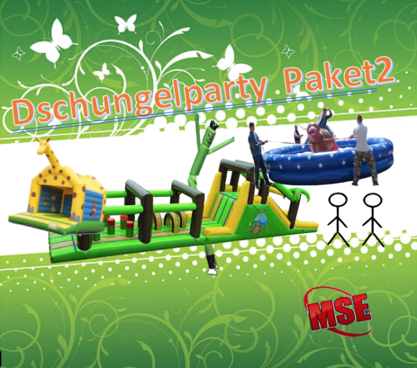 Dschungelparty Eventpaket mieten   MSE-Connection