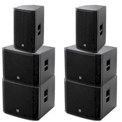 EV Club-System | 2x EKX 15p + 4x 18 SP