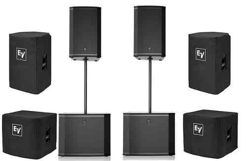 EV Partyanlage | 2x EKX 15p + 2x 18 SP