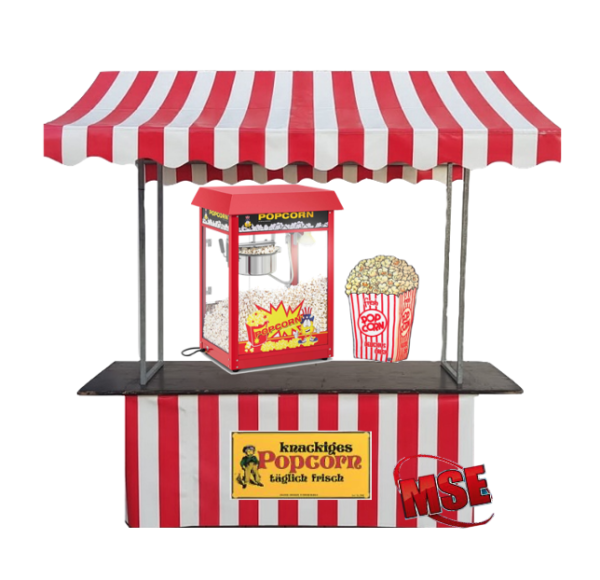Markstand Popcorn mieten | MSE-Connection