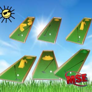 mobile Minigolfbahnen