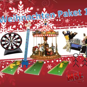 Weihnachtsfeier Eventpaket mieten | MSE-Connection
