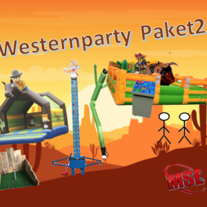 Wild West Eventpaket mieten | MSE-Connection