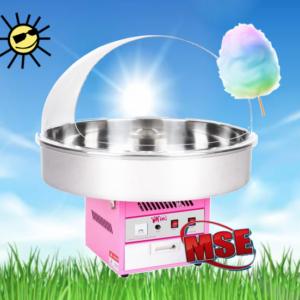 Zuckerwatten  -  Maschine